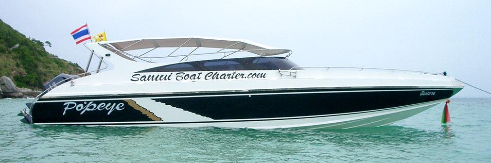 Matthew Samui Boat Yacht Charter Luxury Private Speed